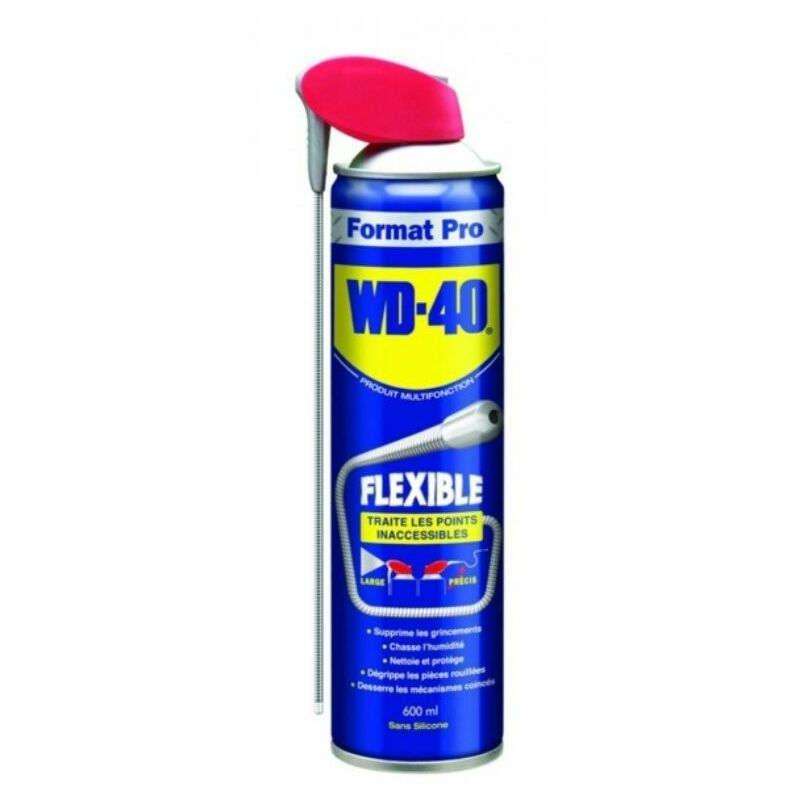 WD40 aerosol flexible 600ml WD40 33448 - WD-40