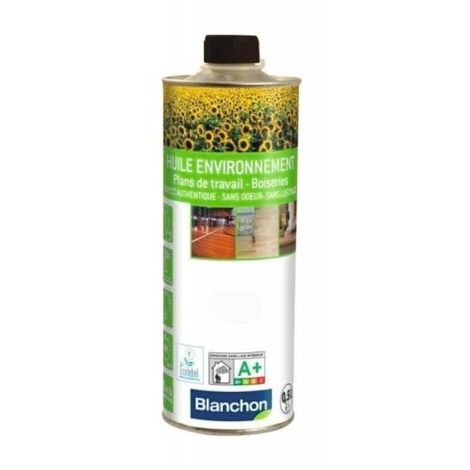 Huile parquet environnement, bois naturel, bidon de 5 litres - Bois naturel - Bois naturel