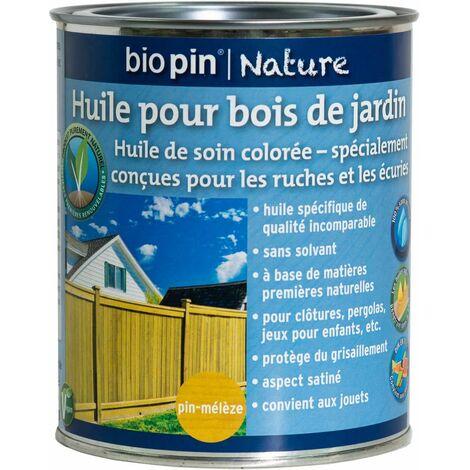 Huile pour bois de jardin 0,75 L - Pin-mélèze