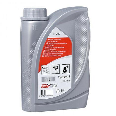 Huile pour outils pneumatiques 22 - bidon 1 litre - PRODIF