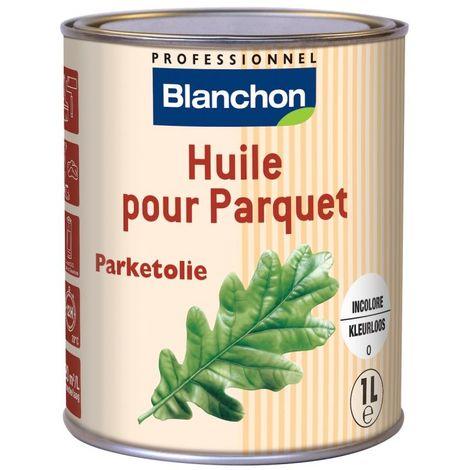 Huile pour Parquet Blanchon Incolore 1L