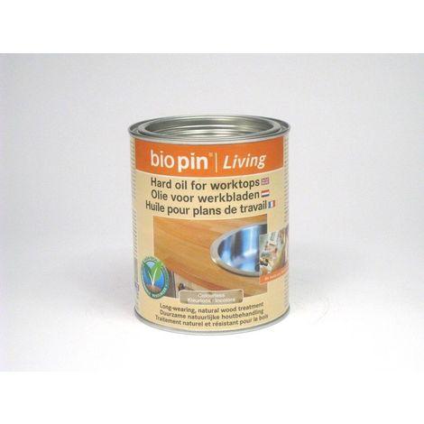 Huile pour plan de travail Biopin – pot de 0.75 - pot(s) de 0.75L - blanc