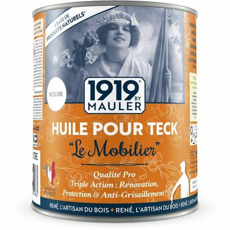 Huile pour teck Le Mobilier - 1 litre - 1919 by Mauler