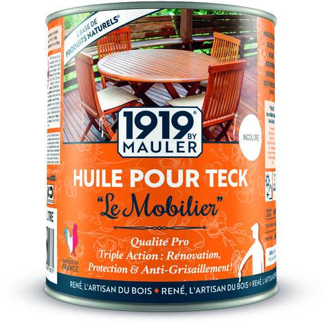 """Huile pour teck """"Le mobilier"""" - Teinte Teck 1L"""