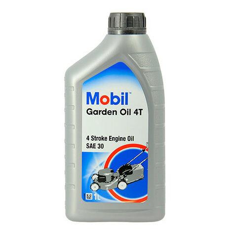 Huile pour tondeuse essence Super M-GARDEN 4T SAE 30 - 1L - Mobil - -