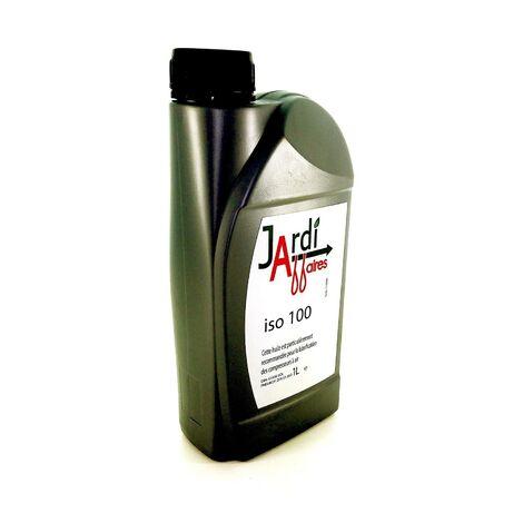 Huile professionnelle compresseur à piston ISO 100 Jardiaffaires 1 litre