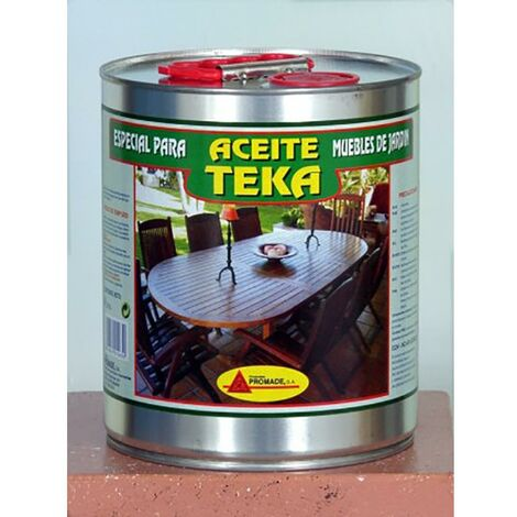 Huile protectrice pour teck 4 Lt Incolore Promade
