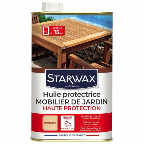 Huile protectrice teck et bois exotiques STARWAX (bidon 1 l) - Format : Bidon 1 L