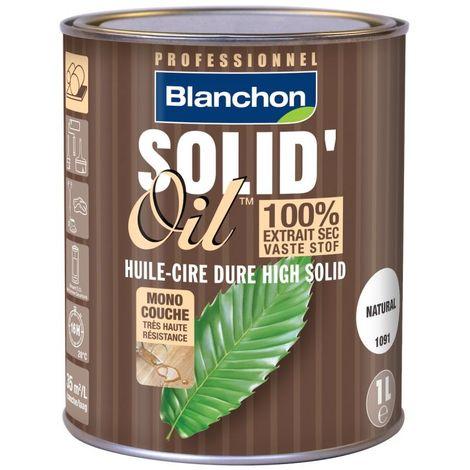 Huile Solid'oil pour Parquet Blanchon 1L - Plusieurs modèles disponibles
