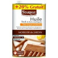 Huile teck très longue protection Starwax