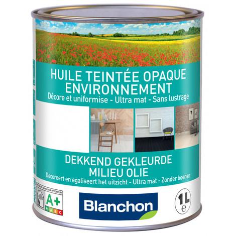 Huile teintée opaque environnement Blanchon 1L - Plusieurs modèles disponibles