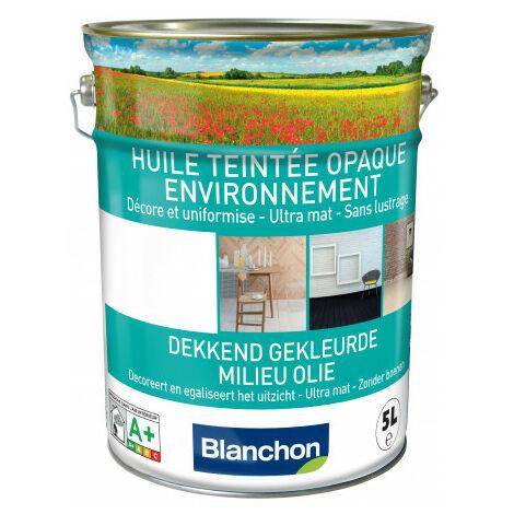 Huile teintée opaque environnement Blanchon 5L - Plusieurs modèles disponibles