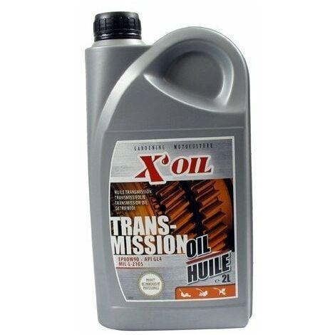 Huile transmission 2L X'OIL EP80W90-GL4