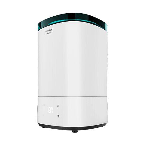 Humidificador breezecare 3000, humidificación máxima 330ml/h, depósito de 5,5l, filtro cerámico, autonomía 24h, cecotec