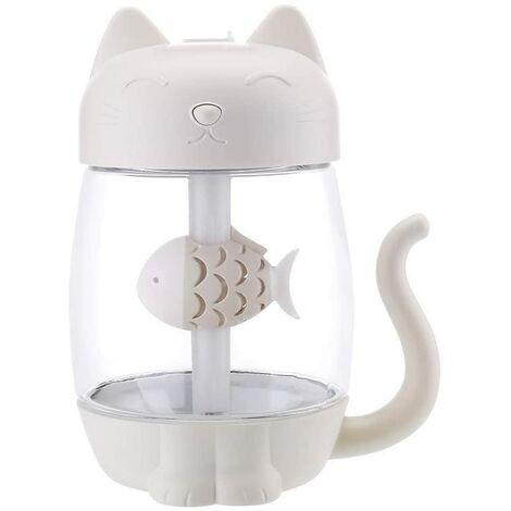 Humidificador de aire LangRay 3 en 1, humidificador de aire Net Cat, humidificador de aire LED, difusor de aire para Yoga, dormitorio, oficina, regalo de Navidad