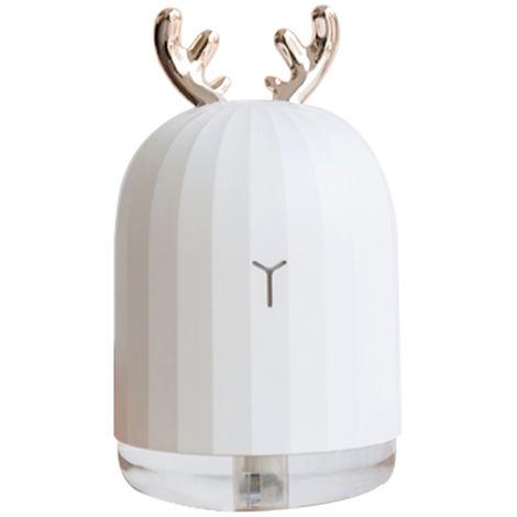 Humidificador de aire ultrasonico usb difusor de aceite esencial,Ciervo blanco