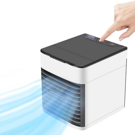 Humidificador de escritorio personal del refrigerador de aire del aire acondicionado portatil, mini fan del USB
