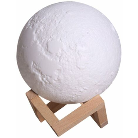 Humidificateur a Led, Veilleuse 3D, 880Ml