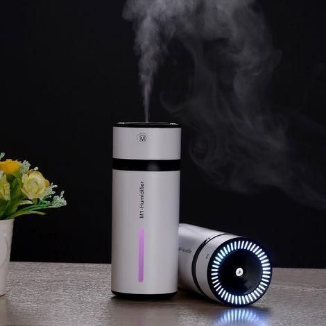 Humidificateur d'Air noir pour Voiture / Maison / Bureau, Capacité du réservoir d'eau: 240ML, DC 5V 2W USB Chargeur Bouteille Po