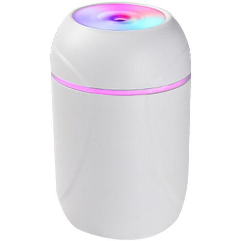 Humidificateur ¨¤ tasse color¨¦e simple pulv¨¦risateur hydratant hydratant voiture purificateur d'air int¨¦rieur compteur d'hydratation charge USB