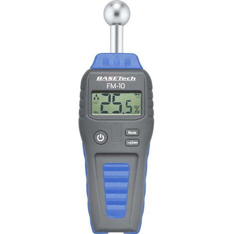 Humidimètre pour matériaux Basetech FM-10 BT-1629564 Plage de mesure de lhumidité de construction 0.1 à 99.9 % vol Plage de mesure de lhumidité du bois 0.1 à