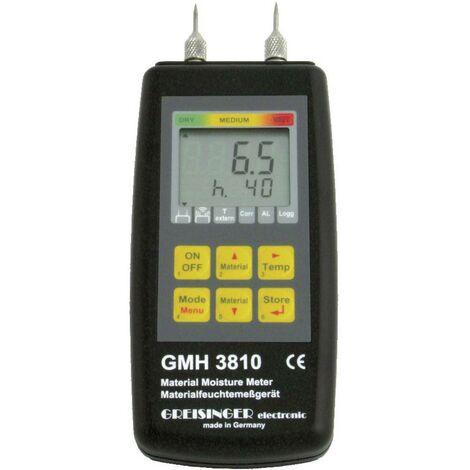 Humidimètre pour matériaux Greisinger GMH 3810 invasive
