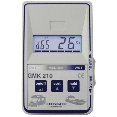 Humidimètre pour matériaux Greisinger GMK 210 600541 1 pc(s)