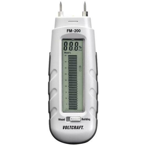 Humidimètre pour matériaux VOLTCRAFT FM-200 FM-200 Plage de mesure de lhumidité de construction 0.2 à 2 % vol Plage de