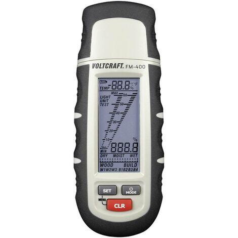 Humidimètre pour matériaux VOLTCRAFT FM-400 FM-400 Plage de mesure de lhumidité de construction 0.1 à 24 % vol Plage de