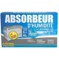 Humidivore Box 70 absorbeurs + 2 recharges dont 1GRATUITE