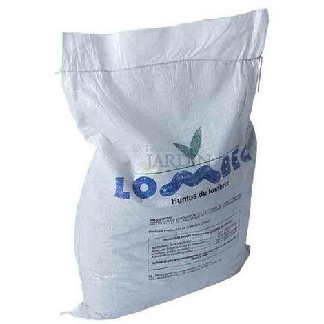 Humus de lombriz vermicompost 15Kg, 25 lts