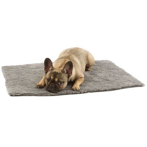 Hundecke Grau 100x75cm - Haustierdecke - Furbed Decke
