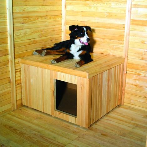 Hundehütte für Hundezwinger