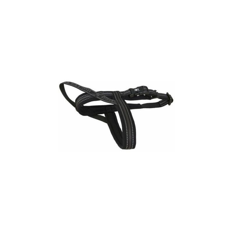 Image of Outdoors Padded Harness Black 110cm x 1 (930082) - Hurtta