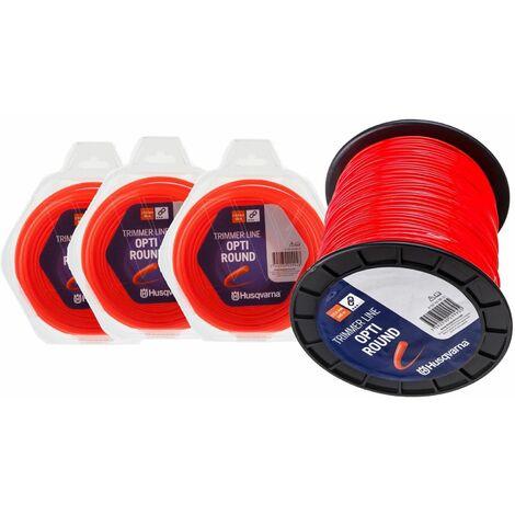 Husqvarna Round tondo bobina filo nylon Arancione per decespugliatore Ø 2,4 mm