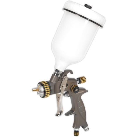 HVLP Gravity Feed Spray Gun 1.4mm Set-Up