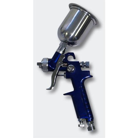 2x HVLP Lackierpistole Spritzpistole Spraypistole 0,8 1,4mm Düse Koffer Set