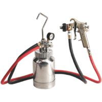 HVLP Pressure Pot System with Spray Gun & Hoses 1.7mm Set-Up