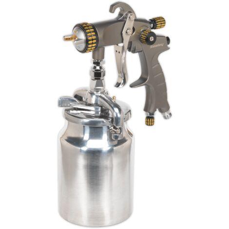 HVLP Suction Feed Spray Gun 1.7mm Set-Up