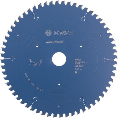 Disco de sierra madera 254mm60d KREATOR KRT020428