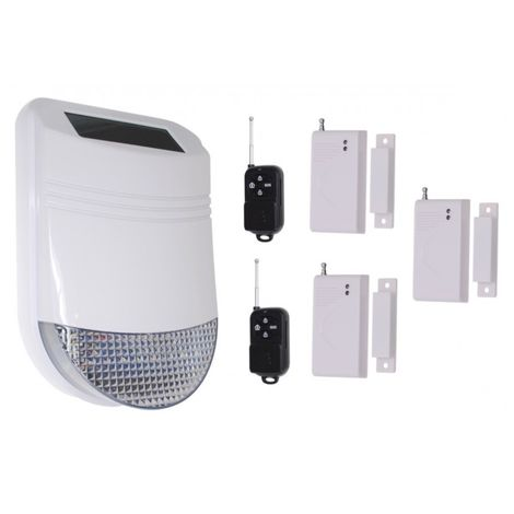 HY Solar Wireless Siren House Alarm Kit 1 [005-6210]
