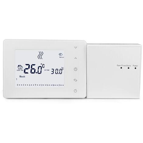 Hy05Rf 433Hz Lcd Multifonction Touche Ecran Intelligent Thermostat Murale Thermostat Chaudiere Accueil Controleur De Temperature