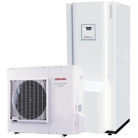 Hybrid Duo Fioul A.I. tri 11 400V ATLANTIC 11 Kw pompe a chaleur inverter A+