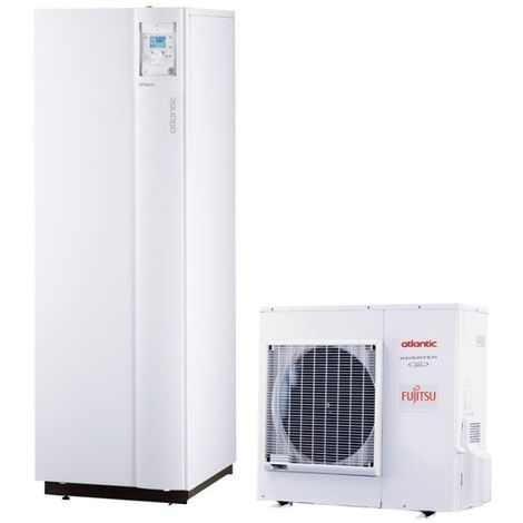 Hybrid duo gaz tri 16 400V Alfea ATLANTIC 16 Kw pompe a chaleur inverter A+