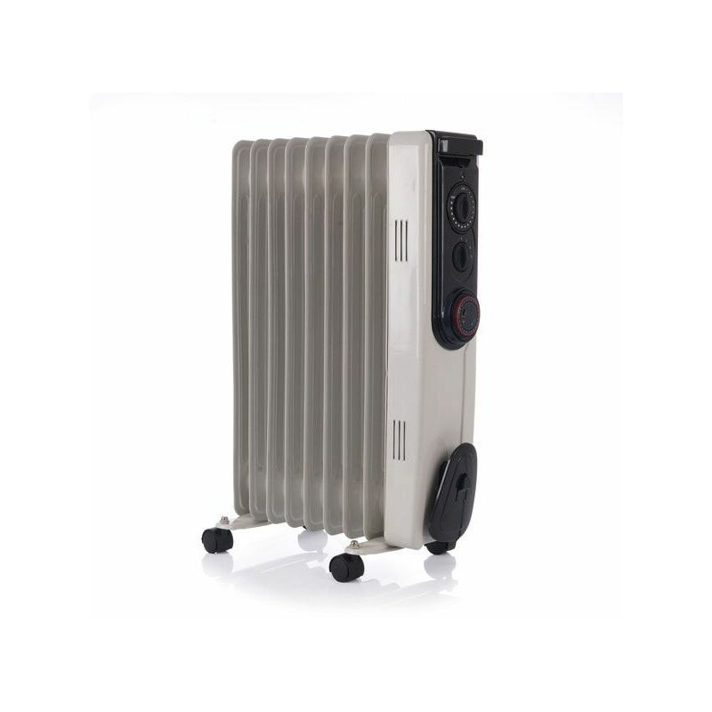 Image of Riviera 1500W (1.5kW) Heater with 3 Settings & Adjustable Thermostat - RAD15Y - Hyco