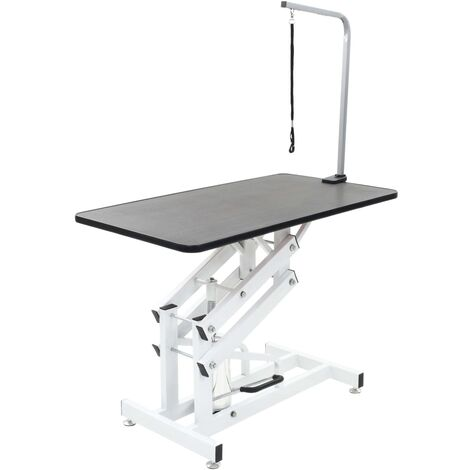 Hydraulic Bath Grooming Table for Dogs Cats Pets Adjustable