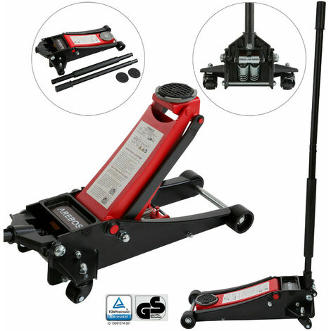 Hydraulic jack Service jack 3 tons Passenger car Lift height 19.8 in (500 mm)