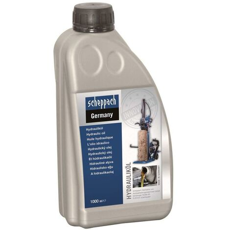 HYDRAULIC OIL 1 LITER FOR HYDRAULIC SYSTEMS AND MACHINES SCHEPPACH