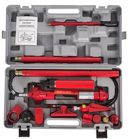 Hydraulic Power Car Van Jack Body Porta Frame Repair Kit Auto Car