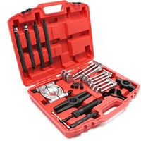 Hydraulic puller set in practical carrying case with 10t traction